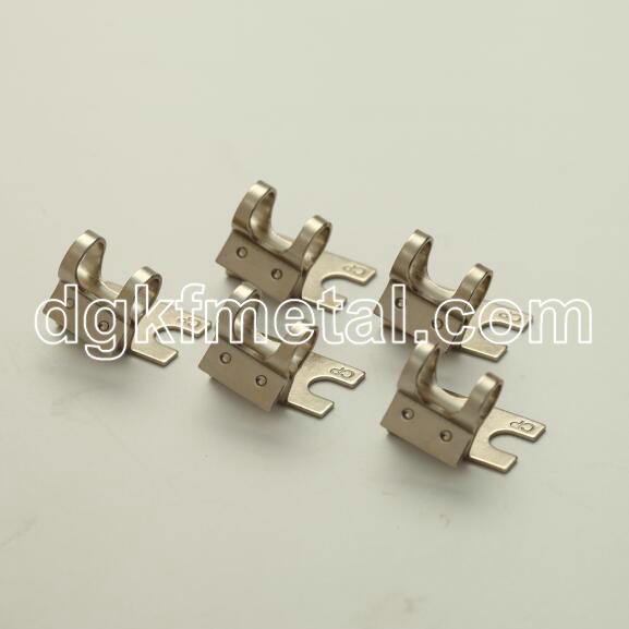 Custom precision stamping surface mount clamps